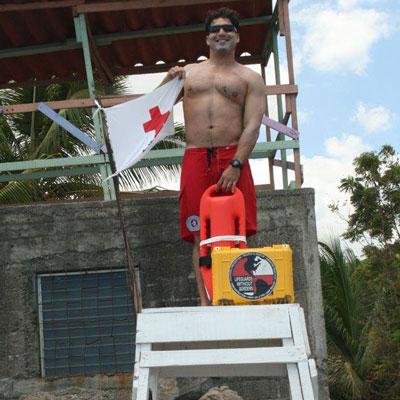 Nick Schriver Lifeguard